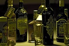 ajenjo botellas