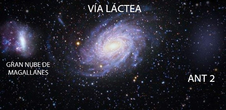 Galaxia enana ant 2 via lactea