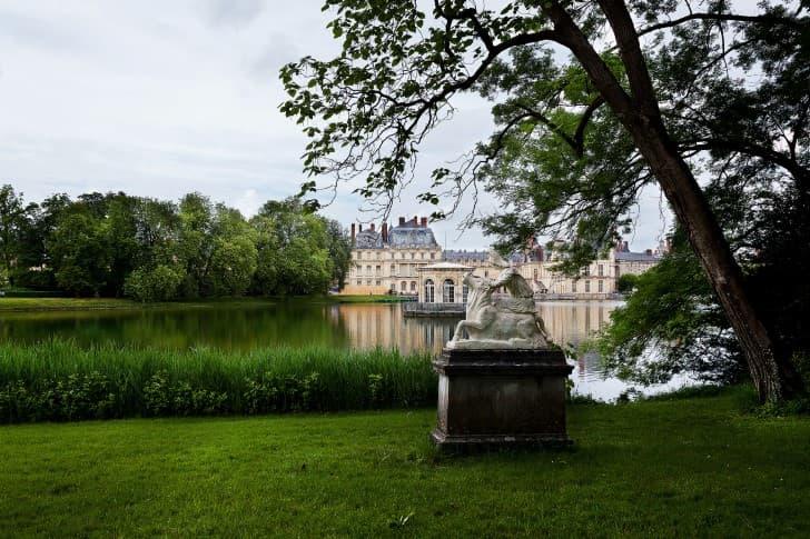 jardines de Fontainebleau,