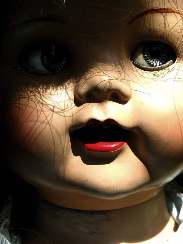 muñeca aterradora