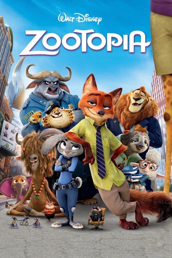 poster Zootopia pelicula de 2016