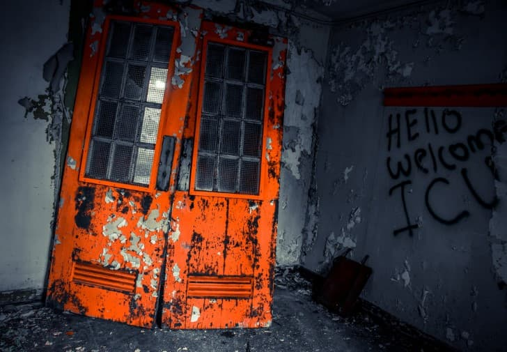 sotano en ruinas