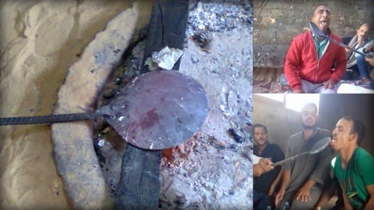 Bisha'a ritual beduinos