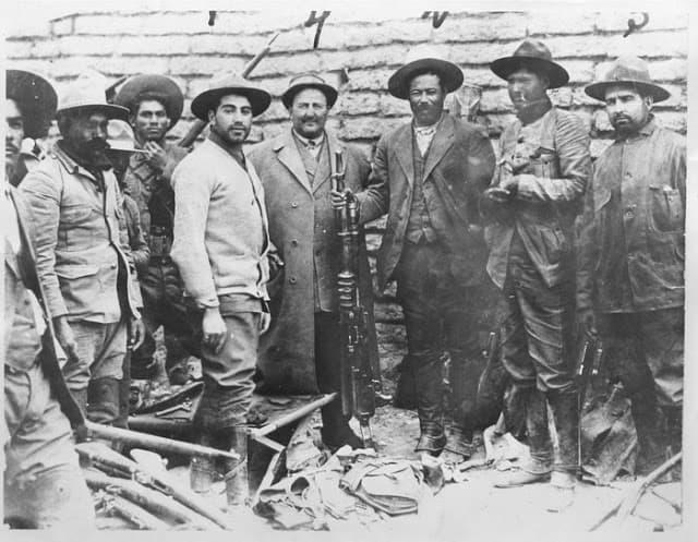 Carl von Hoffman y Pancho Villa