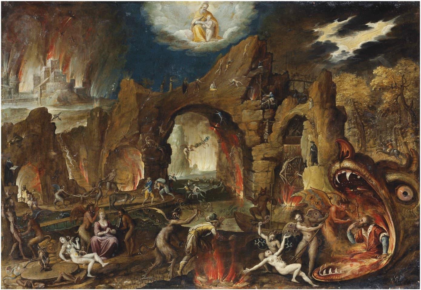 Jacob Isaacsz descenso de cristo a los infiernos