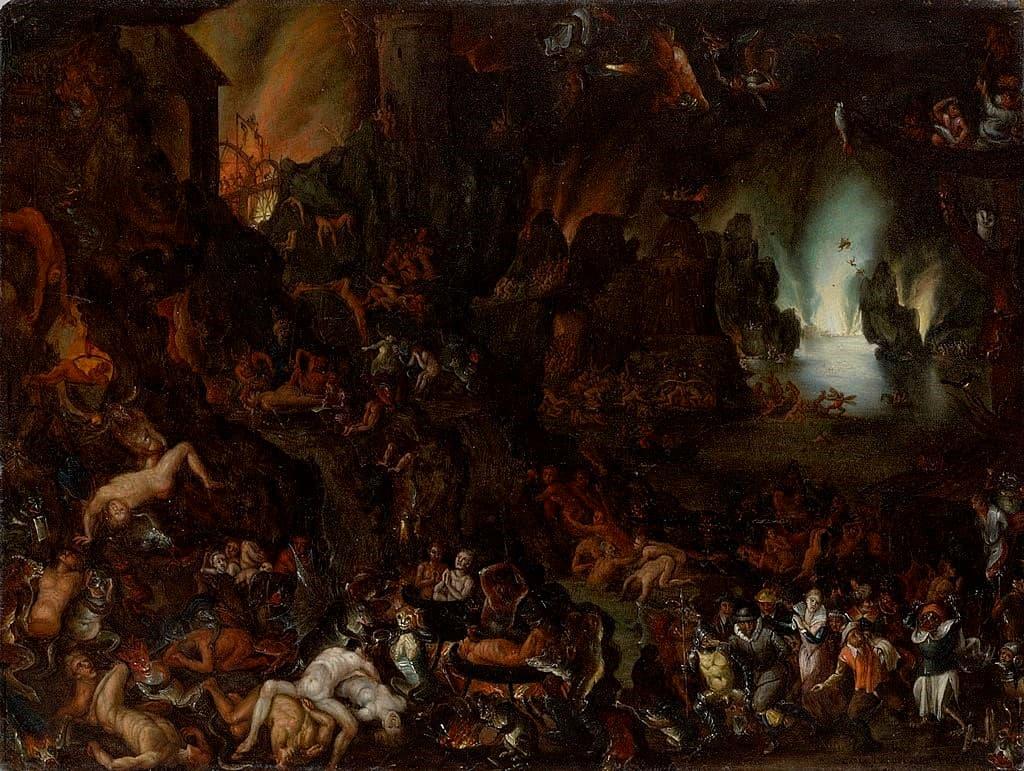 Tormentos del infierno Carl Ludwig Beutler (ca.1669)