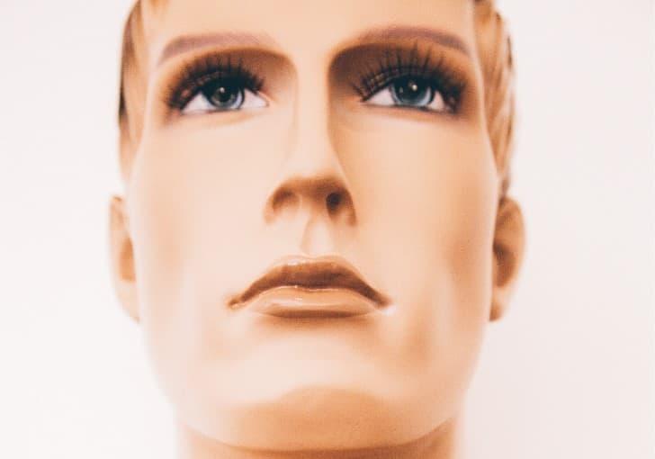 androide rostro