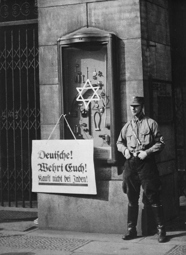 antisemitismo en alemania