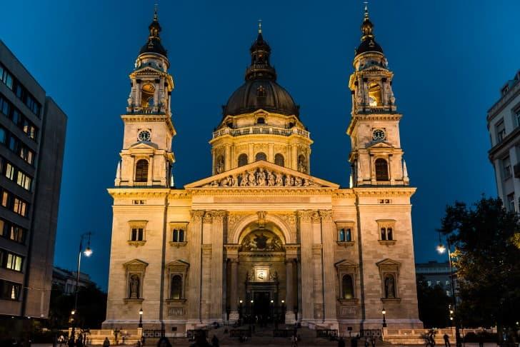 basilica de san esteban en budapest hungria