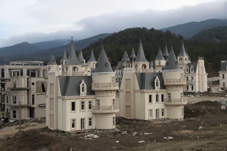 castillos en turquia