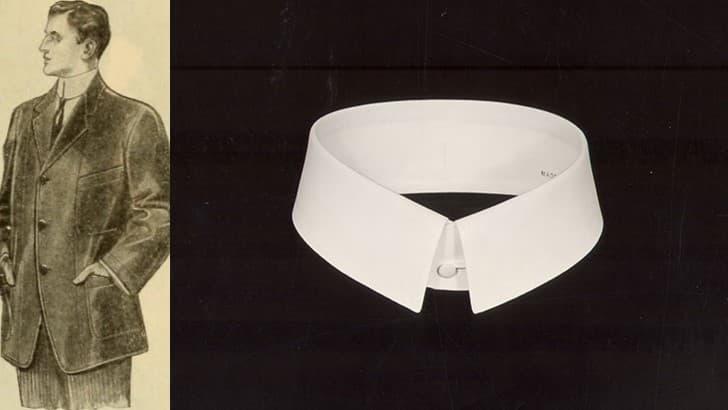 collar rigido para cuello de camisa