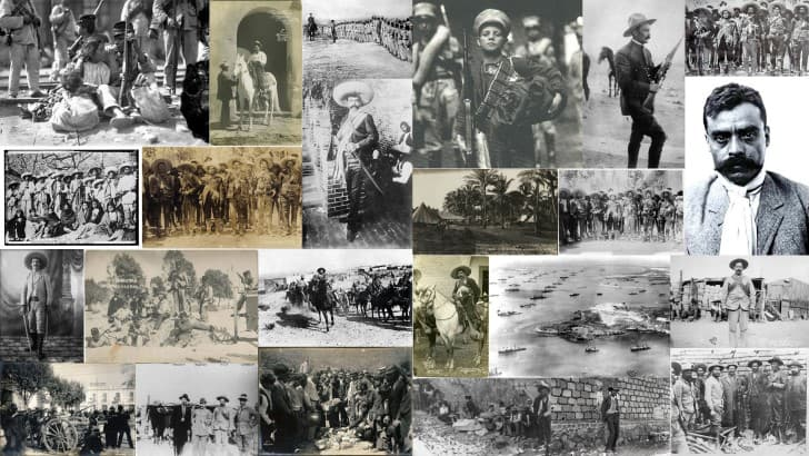 fotografias de la revolucion mexicana collage