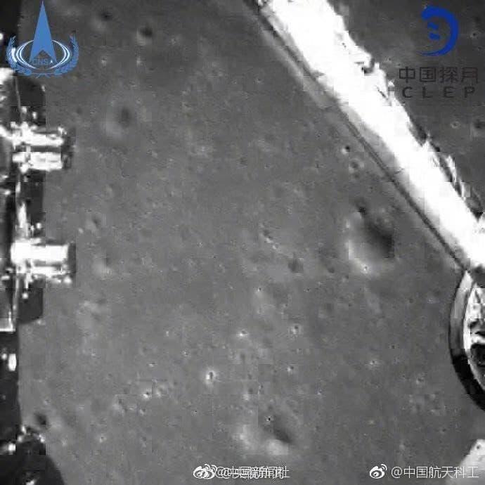 fotografias enviadas por sonda Chang'e 4