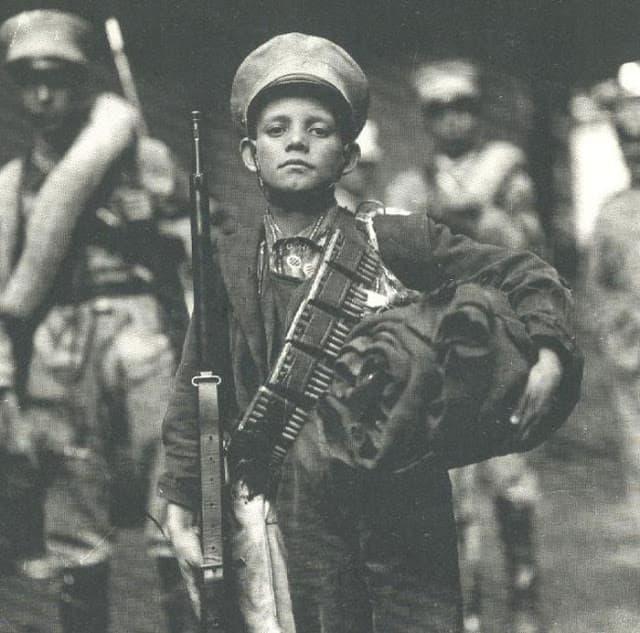 joven revolucionario