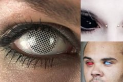 lentes de contacto extraños portada
