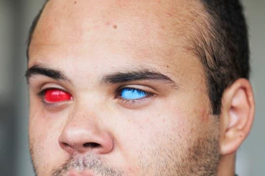 lentes de contacto gafas 3D