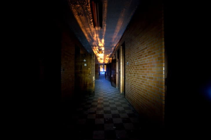 pasillos del asilo Trans Allegheny