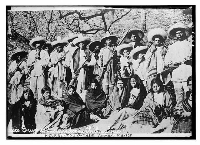 rebeldes revolucion mexicana mujers