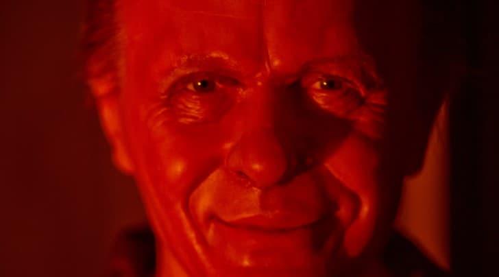 rostro de un psicopata