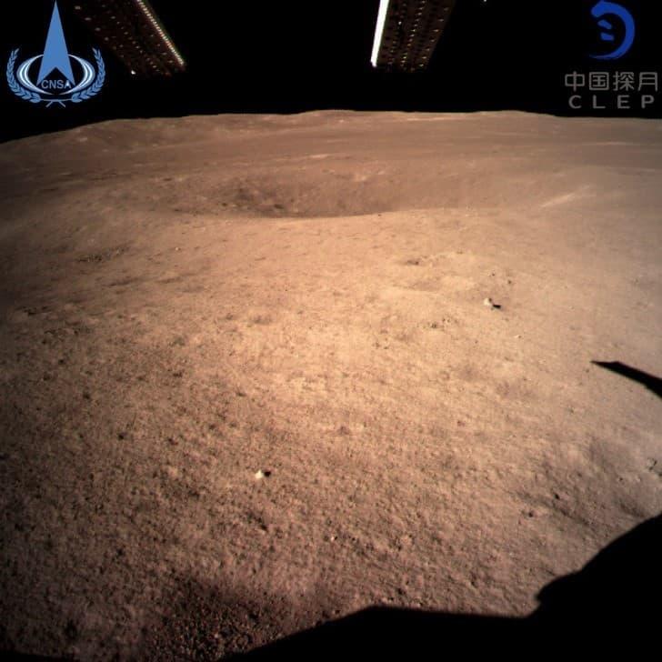 sonda china en la cara oculta de la luna