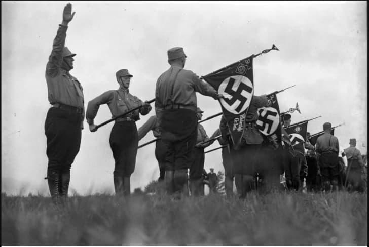 sturmabteilung saludo nazi
