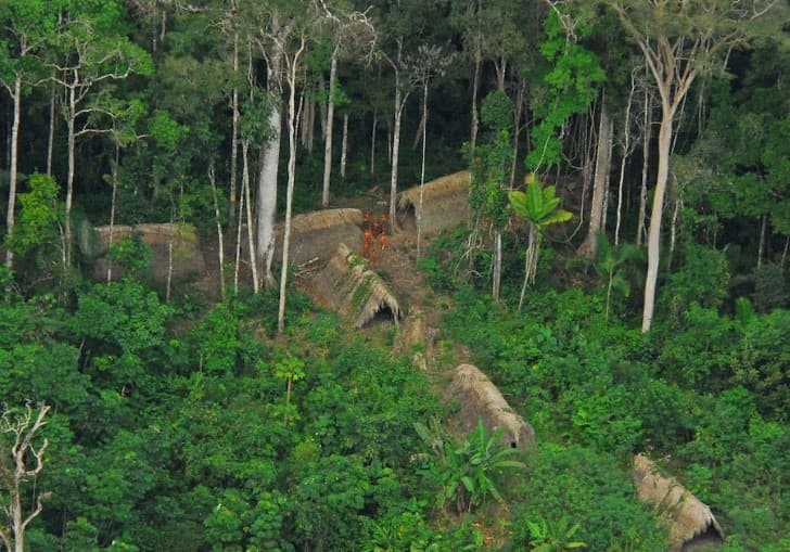 tribu aislada en brasil