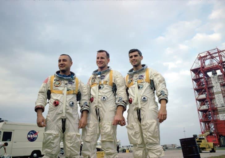 tripulacion mision apollo 1