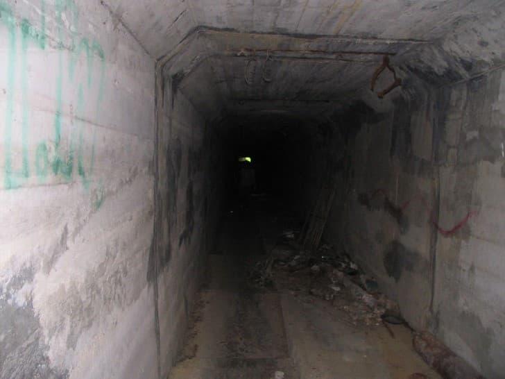 tunel de la muerte en el Waverly Hills