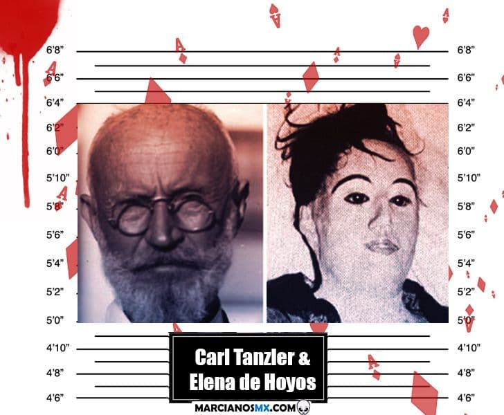 Carl Tanzler and Maria Elena de Hoyos