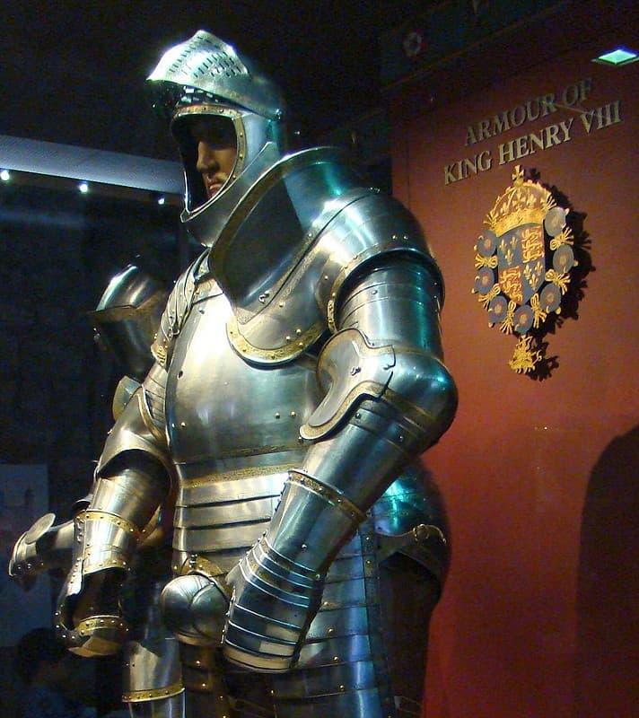 armadura de henry viii