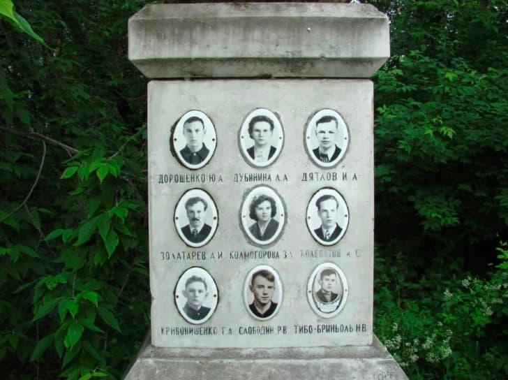 dyatlov monumento