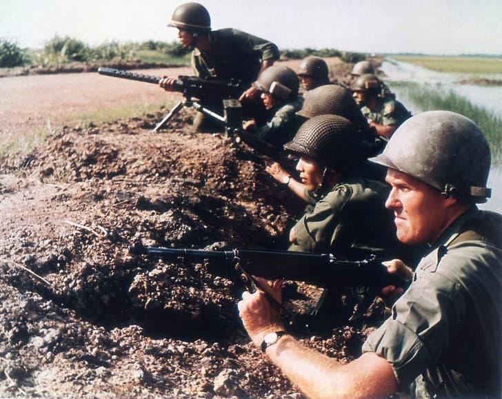 fuerzas de usa y vietnam del sur