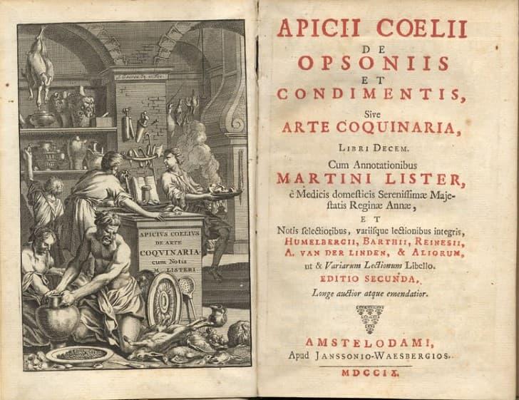 libro de cocina apicio