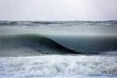 olas congeladas playa en Nantucket (2)
