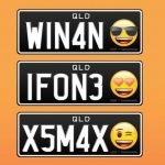 Australia incluirá emojis en placas para automóviles