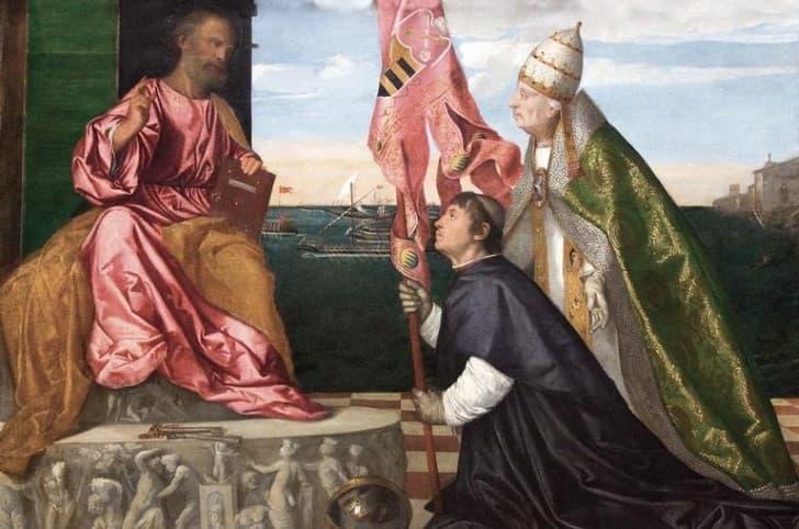 Alejandro VI con San Pedro