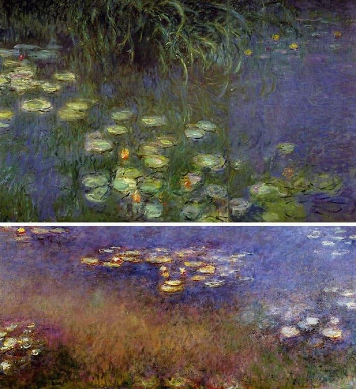 Water Lilies Murals