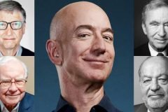 collage los más ricos del mundo