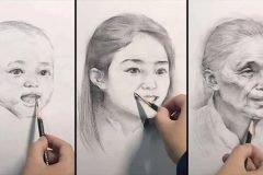 ilustraciones envejecimiento