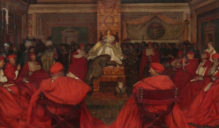 lucrecia borgia al frente del vaticano