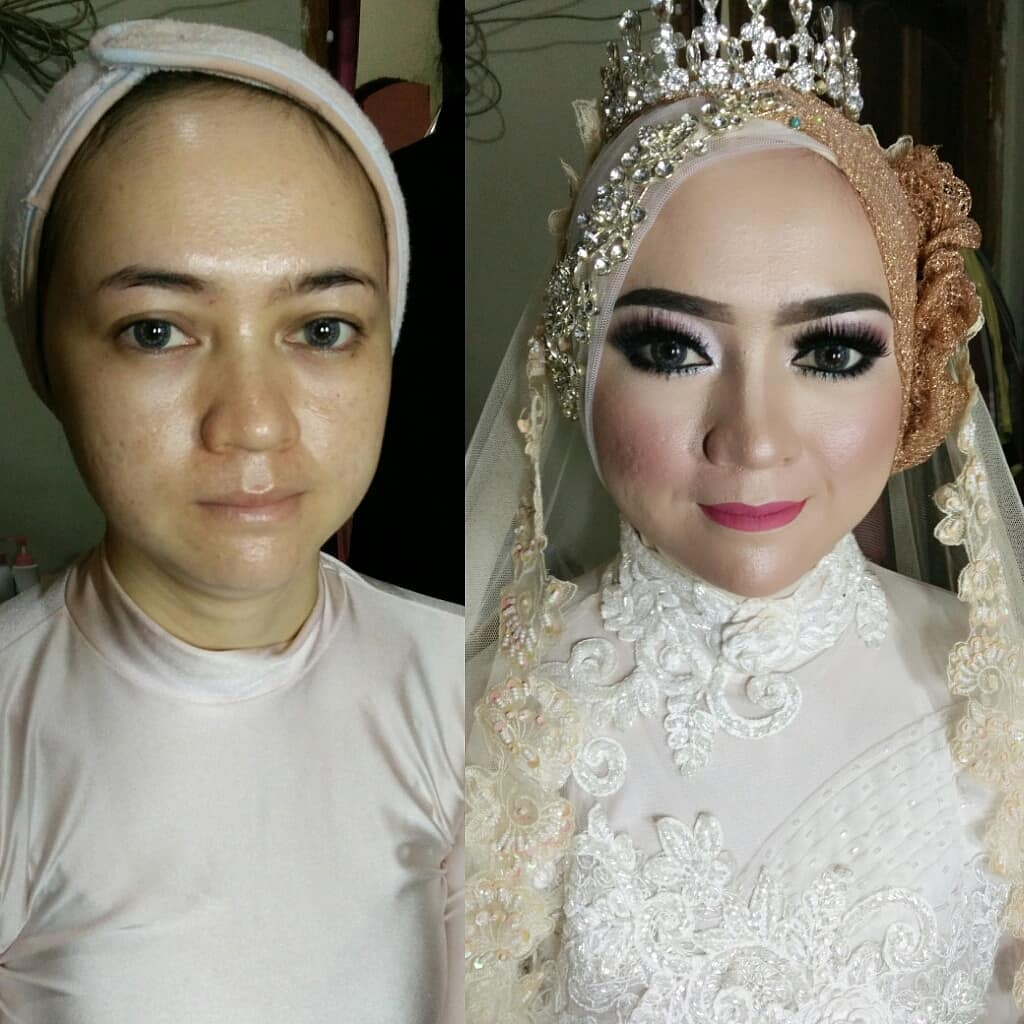 novias indonesia antes despues maquillaje (11)