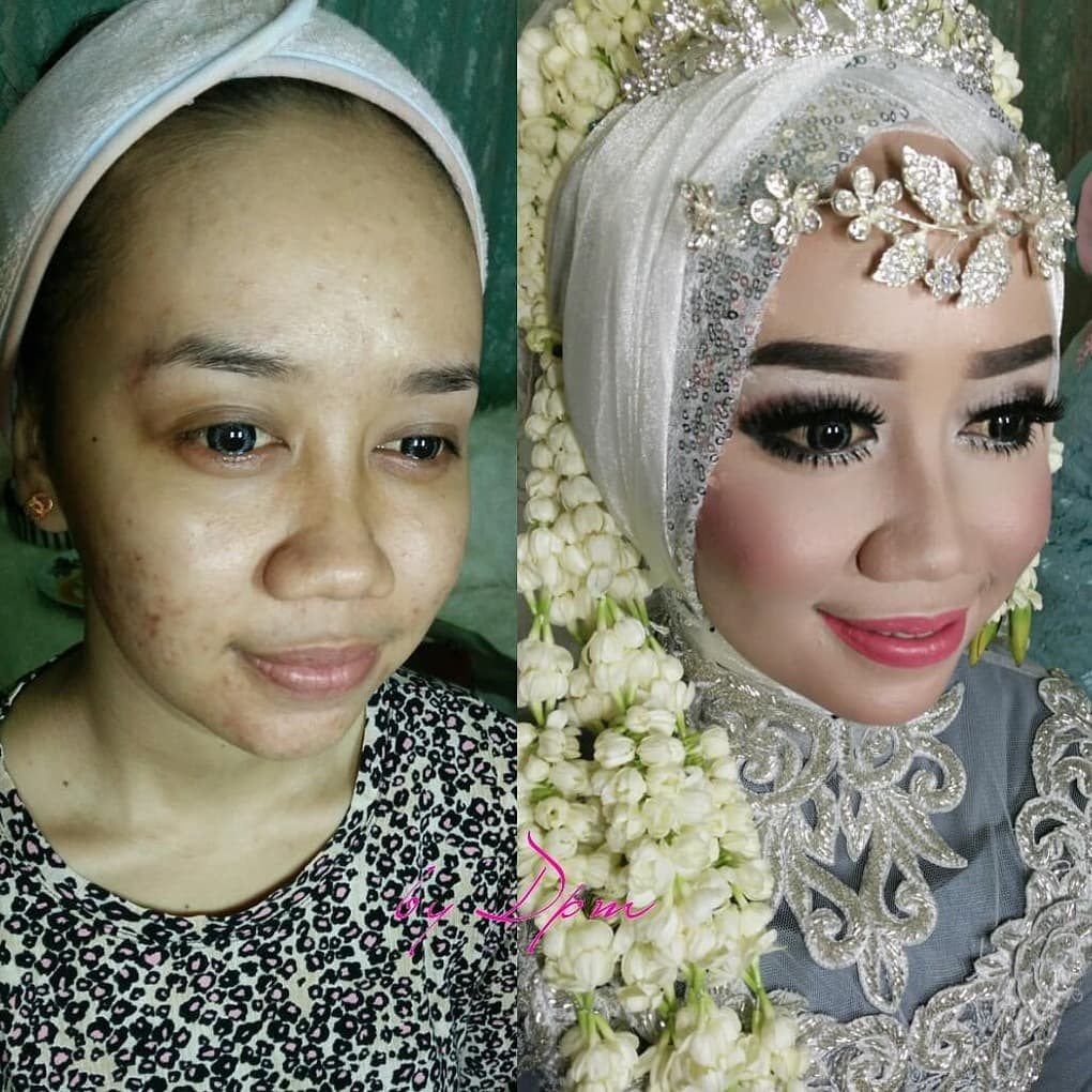 novias indonesia antes despues maquillaje (13)