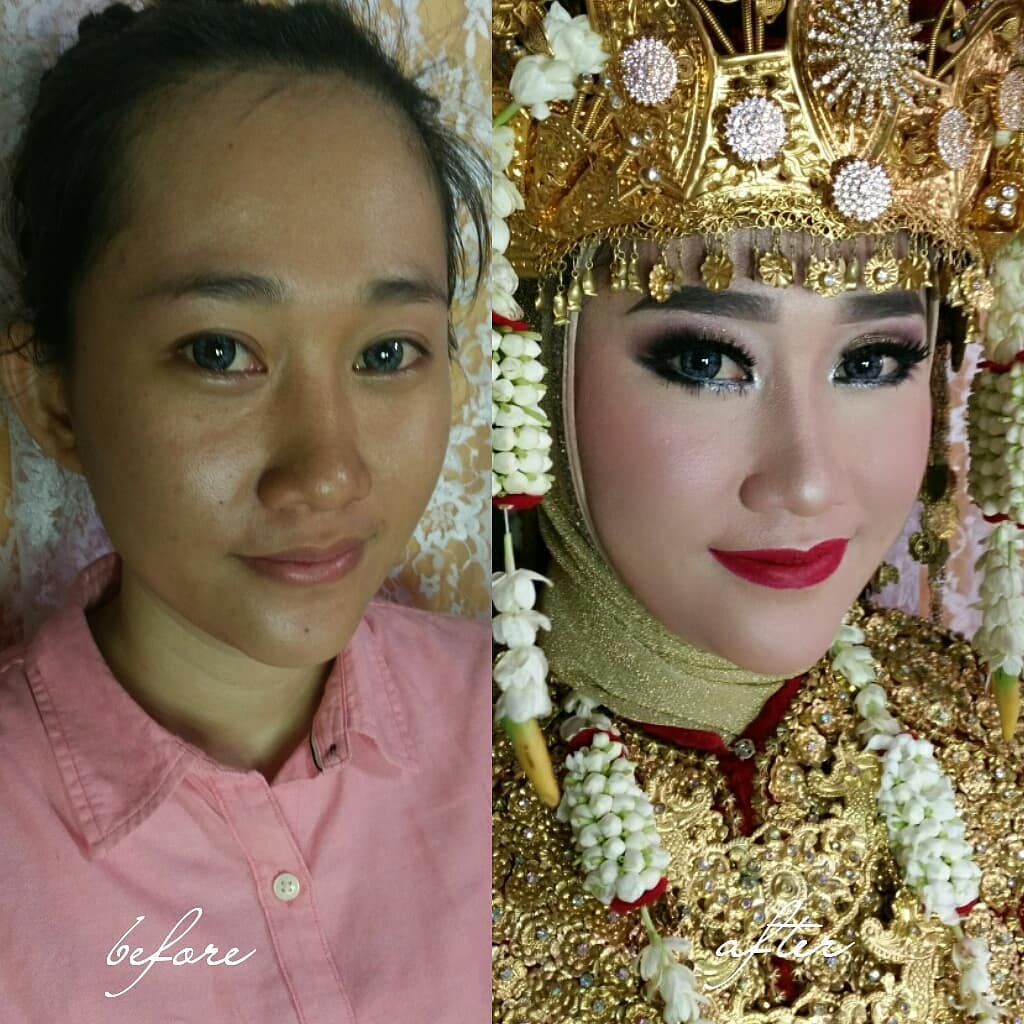 novias indonesia antes despues maquillaje (15)