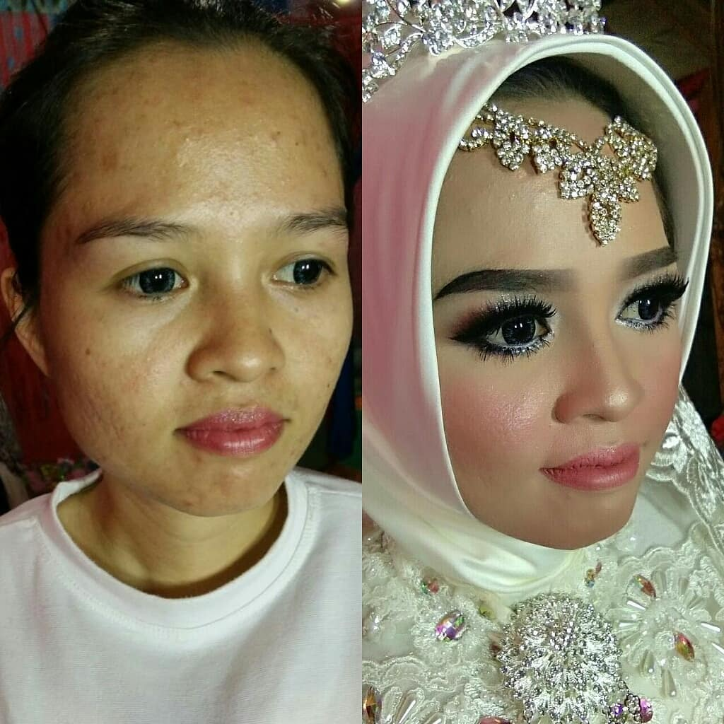 novias indonesia antes despues maquillaje (18)
