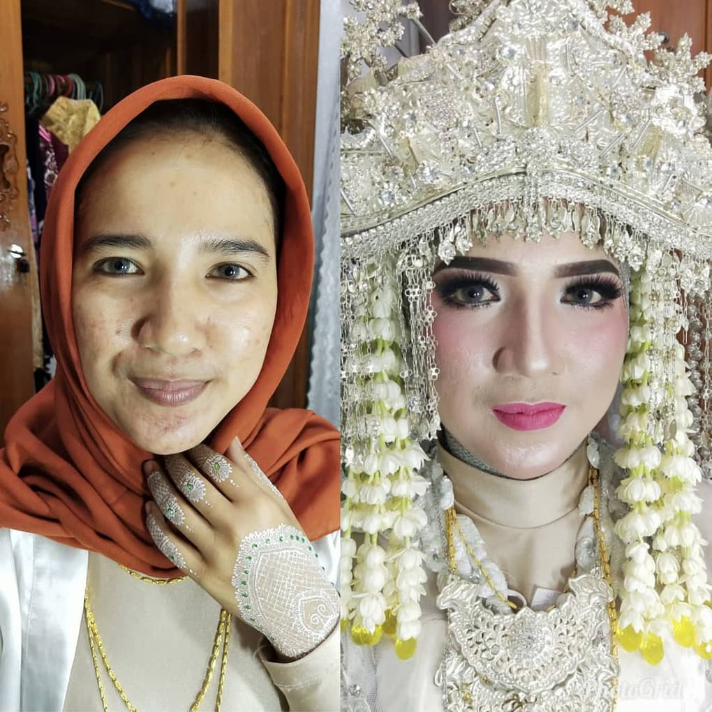 novias indonesia antes despues maquillaje (20)