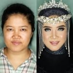 novias indonesia antes despues maquillaje (5)
