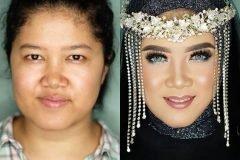 novias indonesia antes despues maquillaje (5)