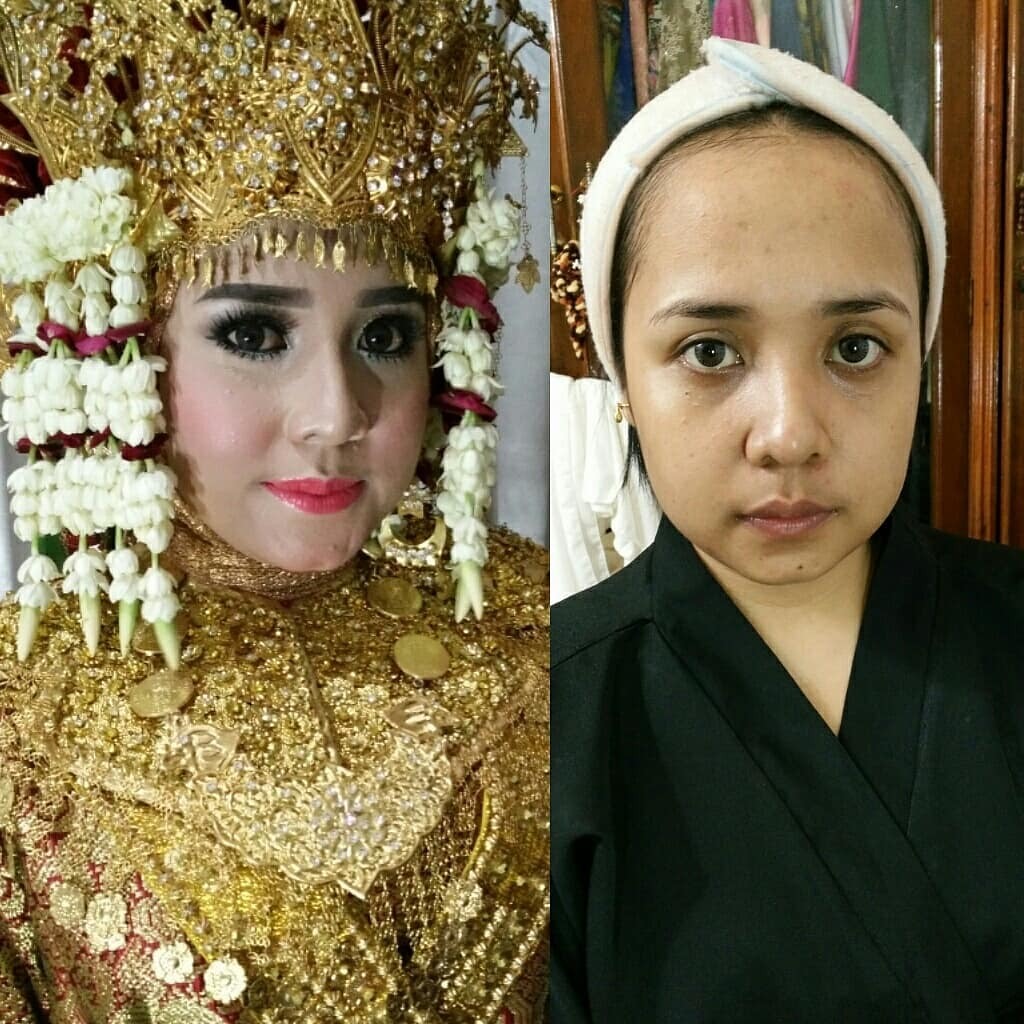 novias indonesia antes despues maquillaje (6)