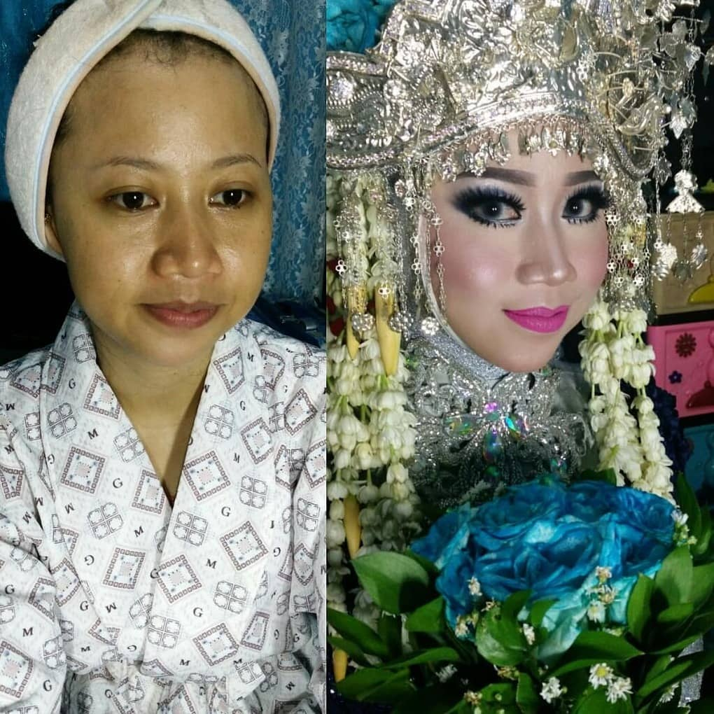 novias indonesia antes despues maquillaje (9)