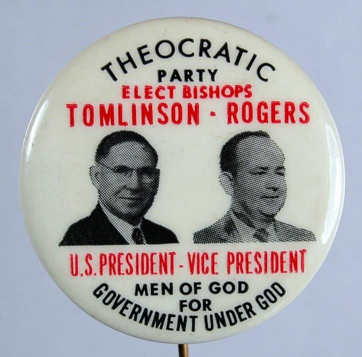 partido teocratico de los estados unidos